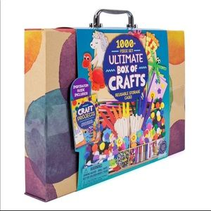 Ultimate Box of Crafts in Storage/Carrying Case